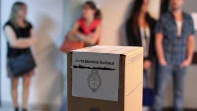 Las elecciones legislativas se sienten cerca