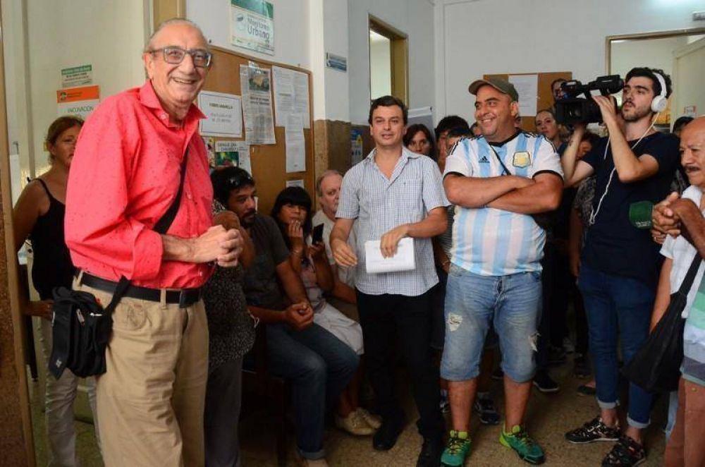 Empleados de Salud piden la continuidad de Luchessi: