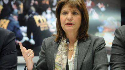 Controles migratorios: Patricia Bullrich vinculó a los extranjeros con el narcotráfico y pidió