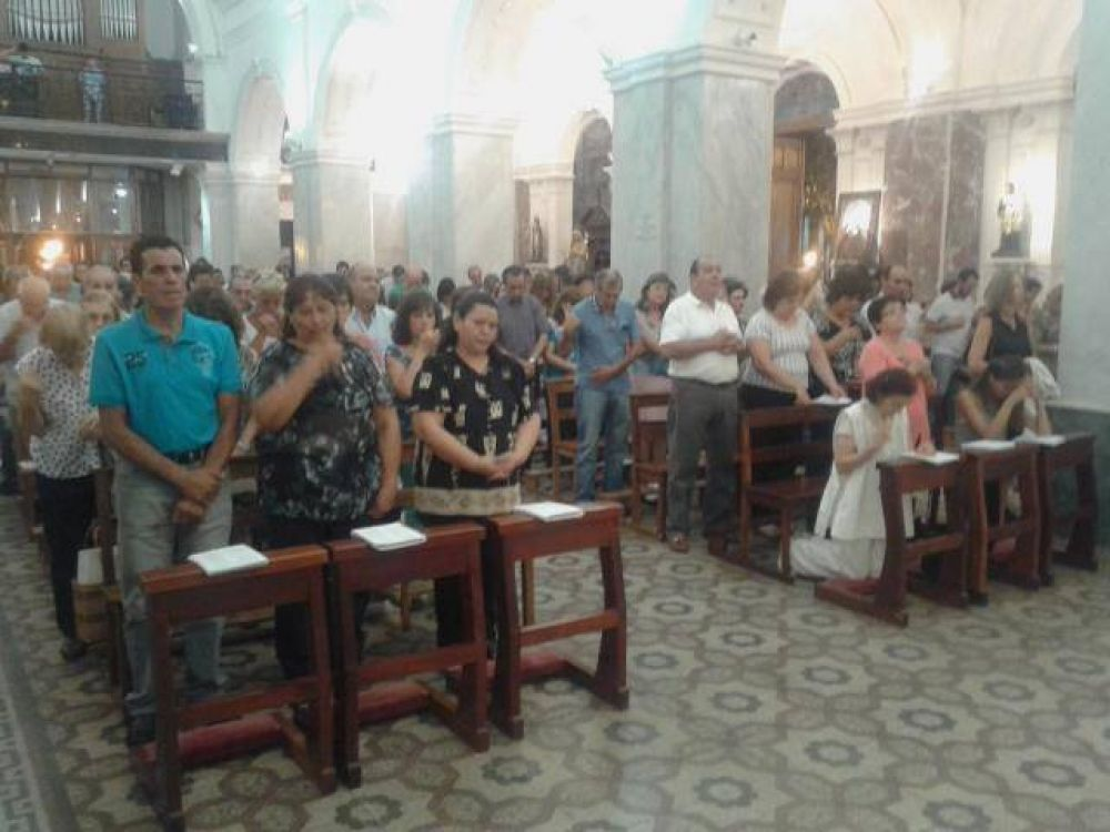 Se celebró en Villa Mercedes la misa por el trabajo