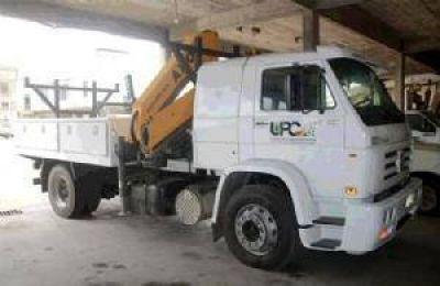 Inversión de la Usina en dos camiones-grúa y una ambulancia dotada de los últimos adelantos