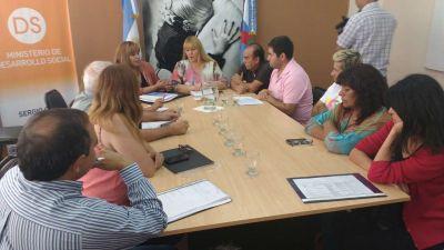 Griselda Herrera recibió a la Gerente Regional de Empleo y Capacitación delegación La Rioja