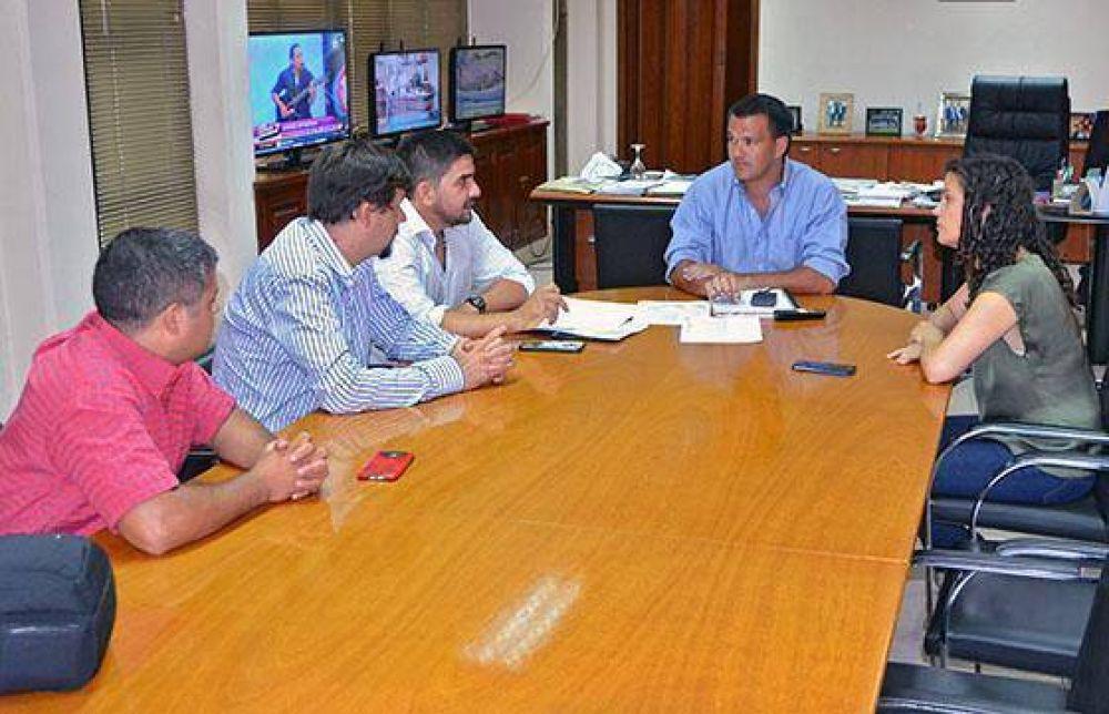 El ministro Rodríguez se reunió con concejales de Salvador Mazza