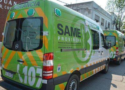 SAME: Funcionamiento dudoso del servicio de emergencias local