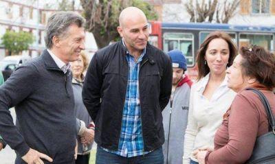 Macri vuelve al Conurbano y se muestra con Vidal en Quilmes