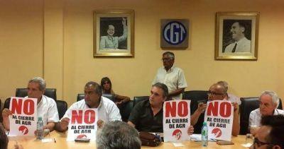 La CGT recibió a los despedidos de AGR y analizará convocar a una movilización contra los despidos
