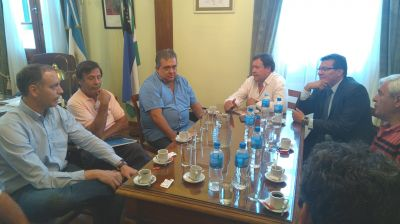 La CGT Zona Atlántica se reunió con el Gobernador