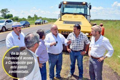 Frigerio ponderó inversión de Nación por $1.000 millones en Corrientes