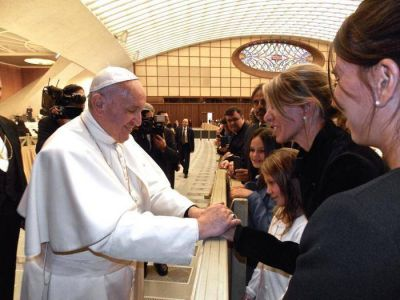 """El Papa a Arroyo Salgado: """"Rezo siempre por Nisman"""""""