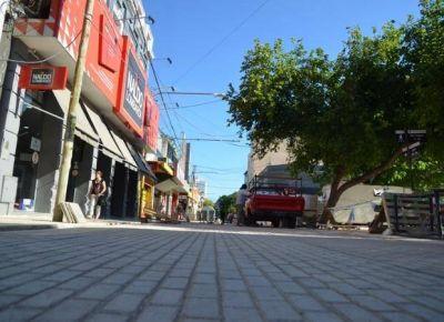 La peatonal en Colón estaría lista para fin de febrero