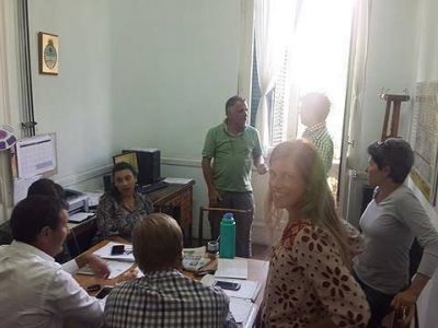 Reunión del equipo de Cambiemos con concejales