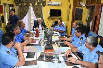 Claudio Saúl destacó la gran labor de la policía en los operativos de seguridad y prevención en el Chayero Sanagasteño
