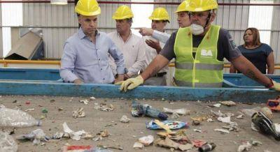 Larreta inauguró la primera planta de tratamiento de residuos secos de la Ciudad