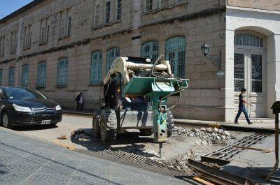 Para evitar inundaciones, mejoran los sistemas de drenaje