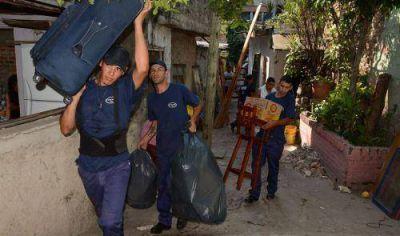 ACUMAR relocalizó familias que vivían en la ribera del Riachuelo