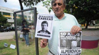 """Comparan el caso Cabezas con la """"impunidad"""" alperovichista"""