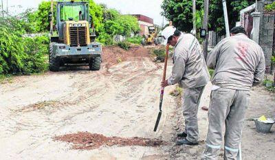 El Municipio trabaja en el mejoramiento de calles