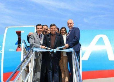 Peppo destacó el impacto económico de Aerolíneas Argentinas en el Chaco y pidió audiencia con sus autoridades