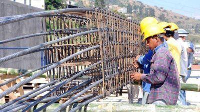 Un beneficio para trabajadores de la construcción conspiró contra el empleo en diciembre