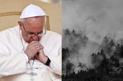 El Papa Francisco reza por víctimas de los incendios en Chile
