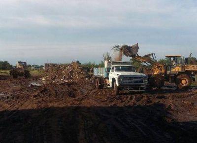 Villa Mercedes: sacaron casi 70 camiones de residuos en Jujuy y Olloqui