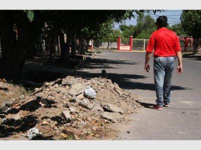 �Rawson evitará levantar al año más de 47 mil toneladas de escombros