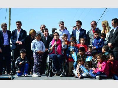 Transfirieron l$36 millones para obras en San Martín