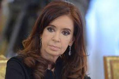 Cristina Kirchner hizo una denuncia penal en Santa Cruz por la divulgación del audio con Parrilli