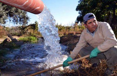 El agua para riego ya es un 18% más cara que en 2016