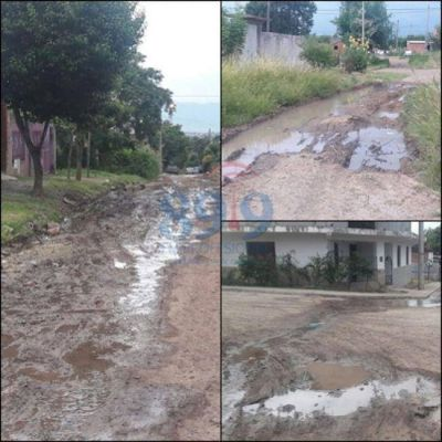 Tremenda pérdida de agua potable en San Isidro