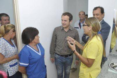 Abella inauguró obras de reforma y remodelación en el hospital municipal