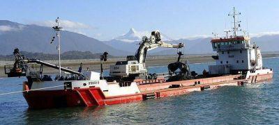 Arriba la draga que operará en el puerto de Mar del Plata