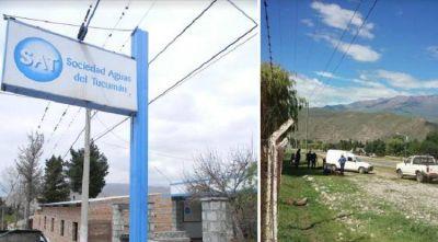La SAT limpia las redes de agua en Tafí del Valle