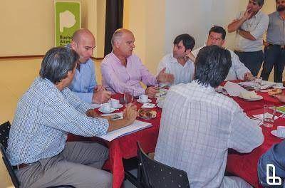 Grindetti anfitrión de reunión con la Subsecretaria de vivienda bonaerense
