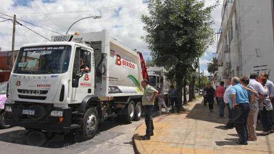 Berisso sumó cuatro nuevos camiones para la recolección de residuos