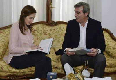 """Intendente K y la posible visita de Vidal: """"Nadie lo confirmó"""""""