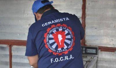 Huelga de ceramistas por cierre de planta y despidos en la firma San Lorenzo