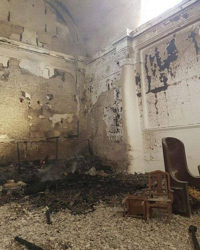 Así quedó la catedral de San Nicolás tras el voraz incendio