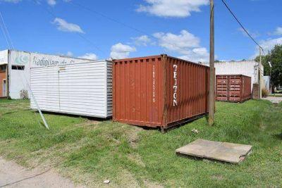 Instalan obrador para las obras de extensión de la red cloacal en el Gallo Blanco