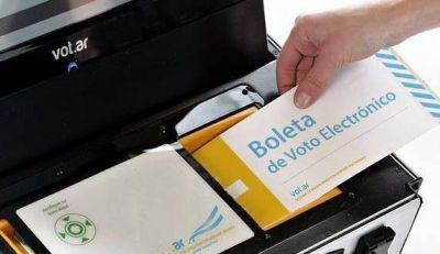 Llamaron a licitación para el servicio de voto con boleta electrónica