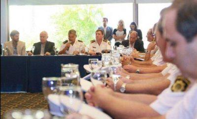 Lifschitz se reunió con jefes policiales para avanzar en seguridad