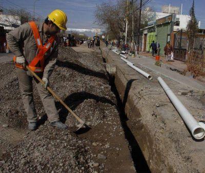San Juan, con fondos para obras de saneamiento en Rivadavia y el Valle