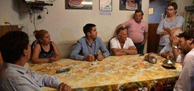Mosca y Barragán recorrieron Mar Chiquita