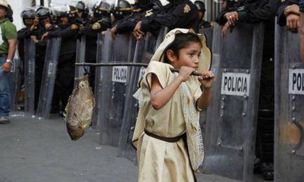 UNA PEREGRINACIÓN DE 25 AÑOS. El de la Virgen más famosa de América, la Morenita mexicana. Comenzó en 1992 en Argentina por deseo de Bergoglio