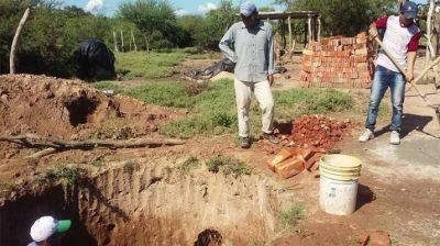 Planifican para febrero la autoconstrucción de cisternas