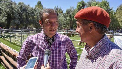 """Gutiérrez en Junín: """"Con esta exposición el turismo y la producción se toman de la mano"""""""