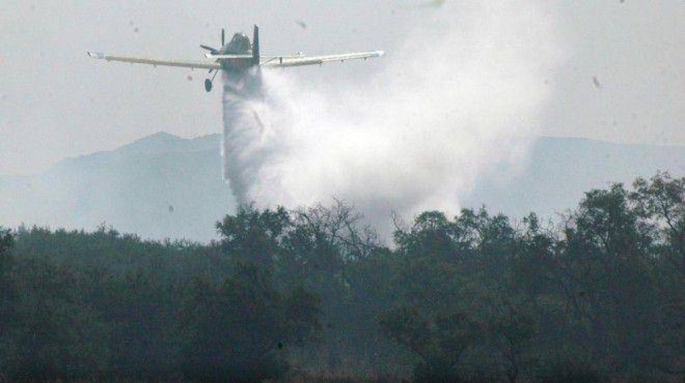 Combaten un nuevo incendio cerca de Junín de los Andes