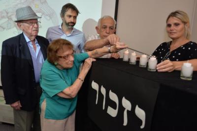 Se realizó en AMIA el acto por el Día Internacional de Conmemoración de las Víctimas del Holocausto