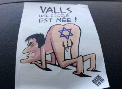 Se descubren volantes antisemitas en elecciones primarias en Francia
