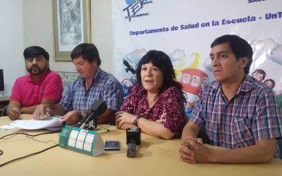 UNTER, a la justicia: prohibimus por la Escuela Secundaria y denuncia a funcionarios